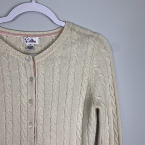 Lilly Pulitzer Sweaters - Lilly Pulitzer Cashmere Button Sweater